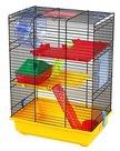 Hamsterkooi-teddy-2-color-Geel-zwart