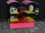 Hamsterkooi--castle-diverse-kleuren