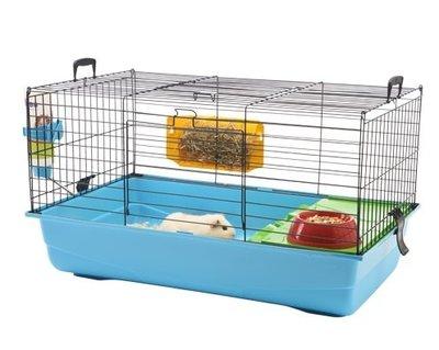konijnen/cavia kooi Savic nero 2