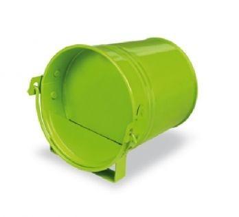Groene Geschilderde Drinkemmer liggend mini