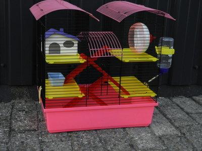 Hamsterkooi  castle diverse kleuren