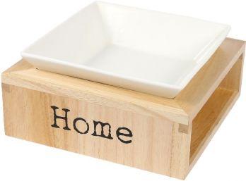 """Trendy voerbak """"Home"""" ( 2 kleuren )"""